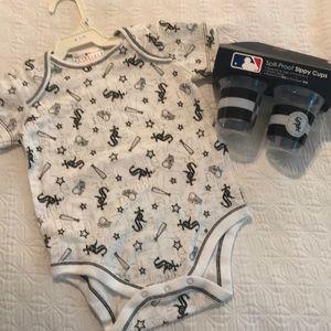 Cute White Sox onesie!